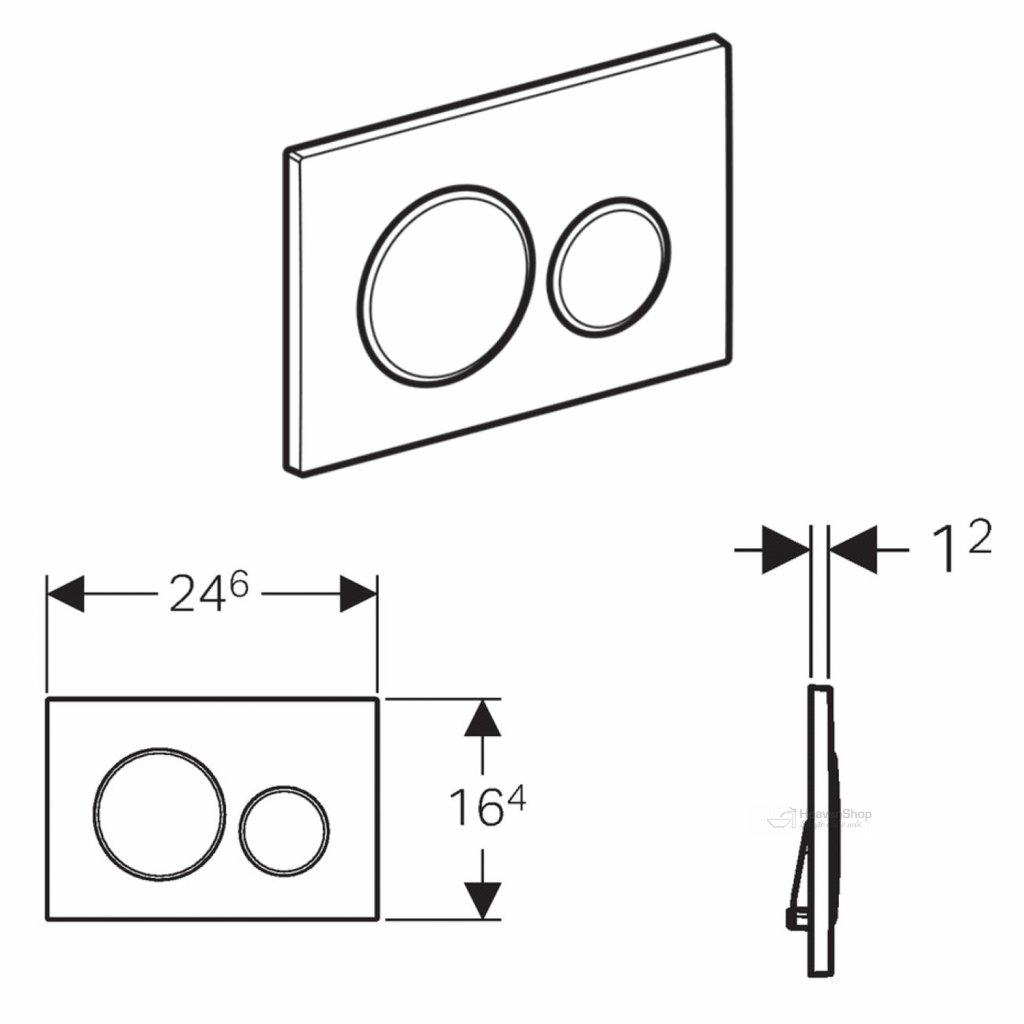 44194 geberit sigma20 ovladacie tlacidlo sigma20 biele zlate 115 882 kk 1