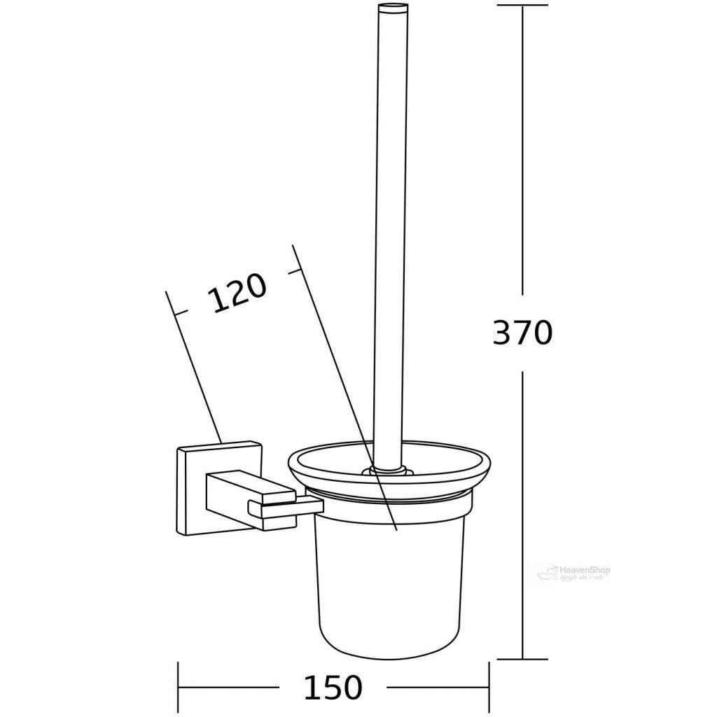 45097 mexen prislusenstvo vane drziak na wc kefu zlata 7020950 50