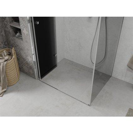 42937 5 mexen lima sprchovaci kut 80x100cm 6mm sklo chromovy profil sede sklo 856 080 100 01 40