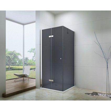 43015 5 mexen lima sprchovaci kut 110x120cm 6mm sklo chromovy profil sede sklo 856 110 120 01 40