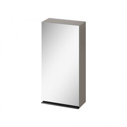 43597 cersanit virgo zavesna zrkadlova skrinka 40cm seda cierna s522 012