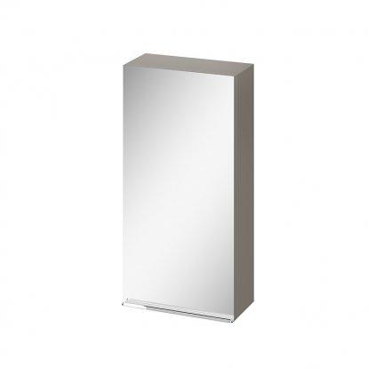 43600 cersanit virgo zavesna zrkadlova skrinka 40cm seda chrom s522 011