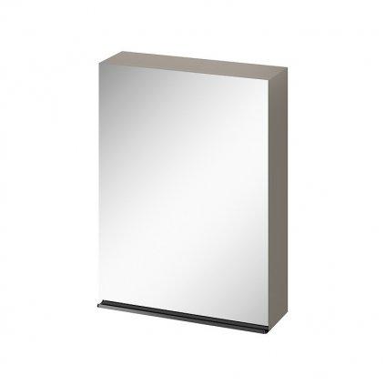 43609 cersanit virgo zrkadlova zavesna skrinka 60cm seda cierna s522 016
