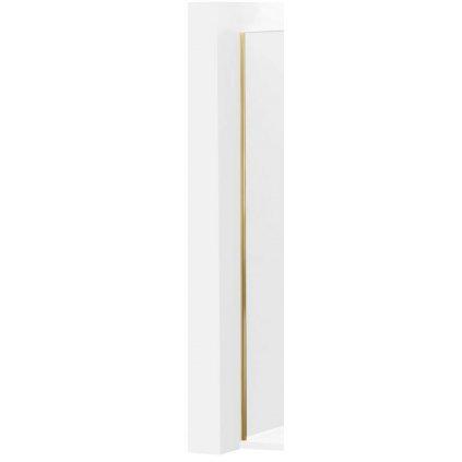 44803 mexen profilova lista pre kioto walk in sprchove steny 8mm zlata 800 00 50