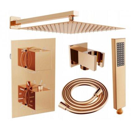 45619 7 mexen cube 2 vystupova podomietkova sprchova sada 6v1 ruzove zlato 5907709105784