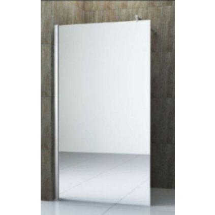 58768 1 mexen kioto sprchova zastena walk in 8mm 100x200 cm sklo efekt zrkadla 800 100 000 00 50