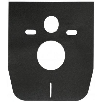 64588 mexen univerzalna zvukovo izolacna podlozka pre zavesne wc alebo bidet mata cierna 39095 70