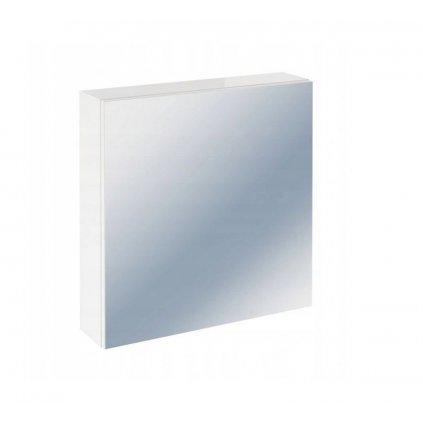 CERSANIT - Colour zrkadlová závesná skrinka 60cm, biela, S571-026