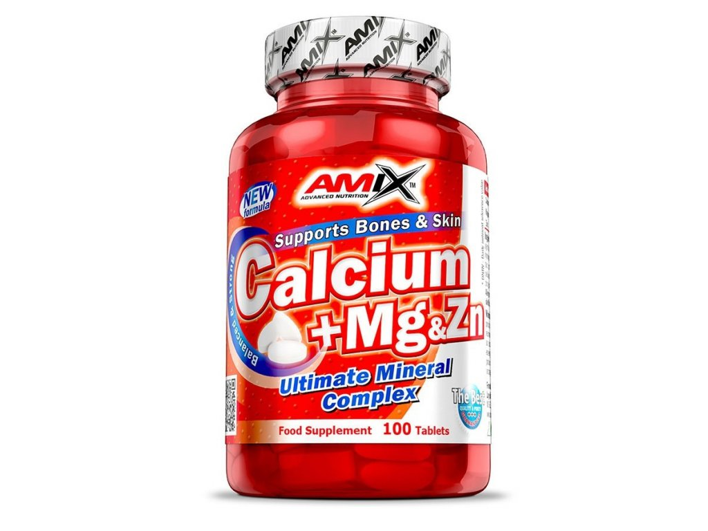 Amix Nutrition Calcium + Mg & Zn