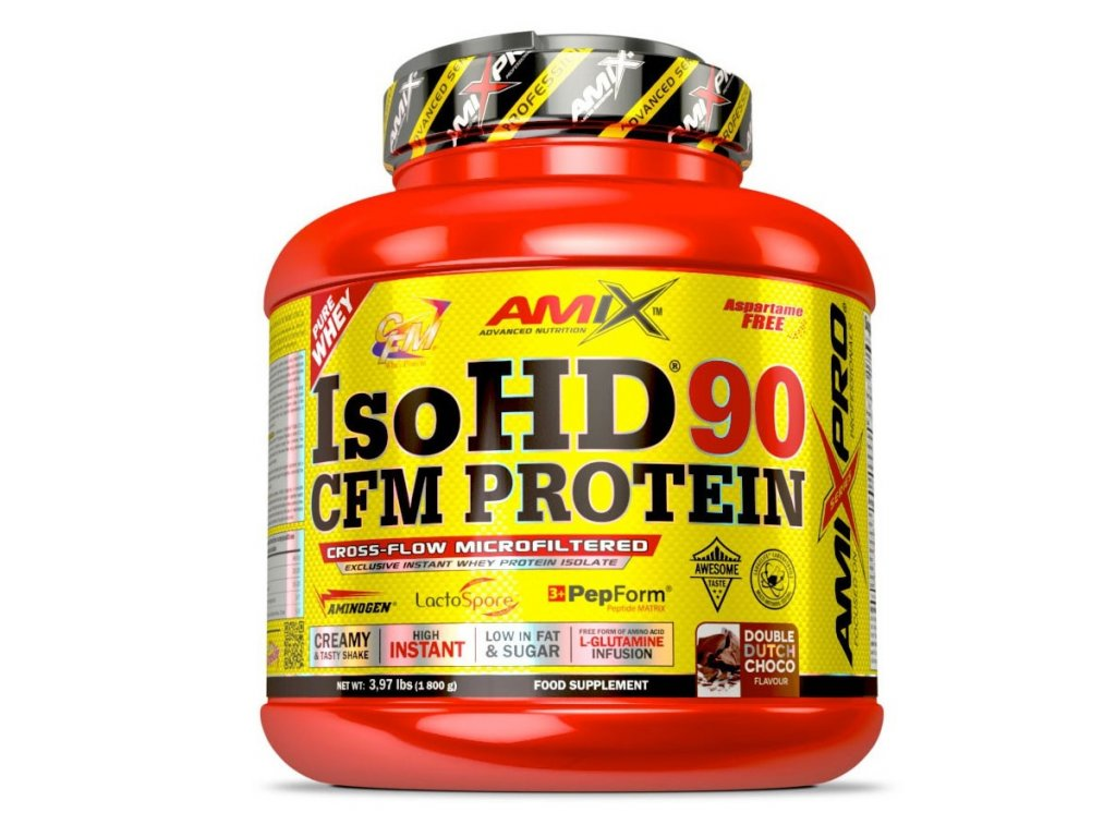 Amix Nutrition IsoHD 90 CFM Protein