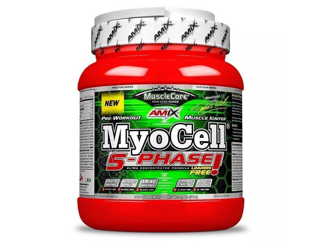 Amix Nutrition MyoCell 5 Phase