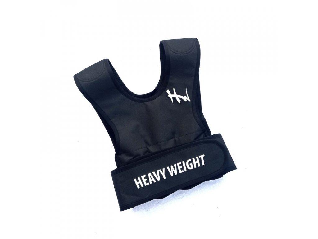 Zátěžová vesta Heavy Weight 0,5 5 kg pro ženy černá