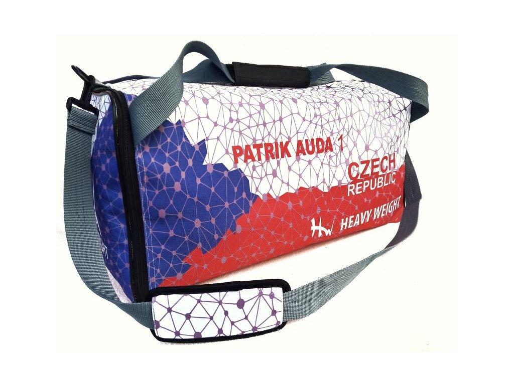 Fitness,sportovní taška Heavy Weight s vlastním designem 1