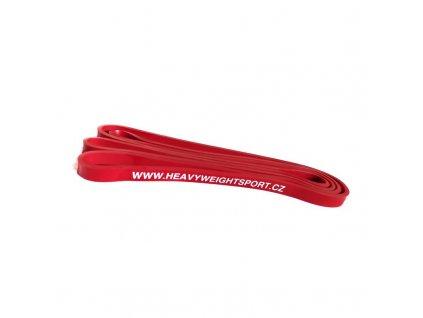 Oporová guma červená odpor 13 kg heavyweightsport