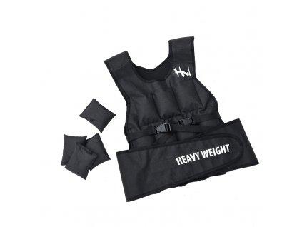 Česká Zátěžová vesta Heavy Weight 20 Kg černá 1