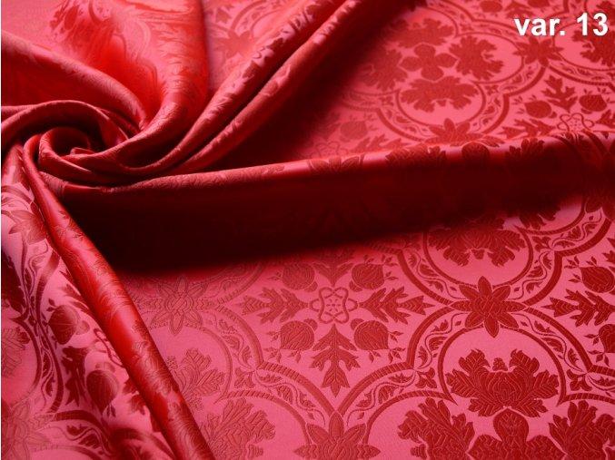 r5124 13 brokát 51323 červená 1