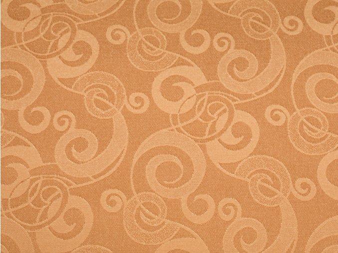 R5988 girlandy oranžová detail