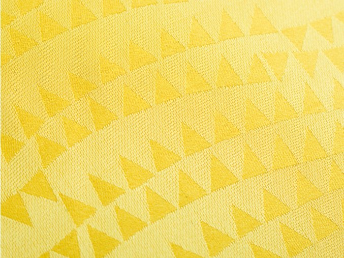 R5797 trojúhelník žlutá detail