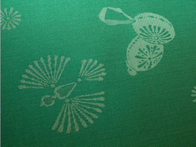 holubička zelená detail