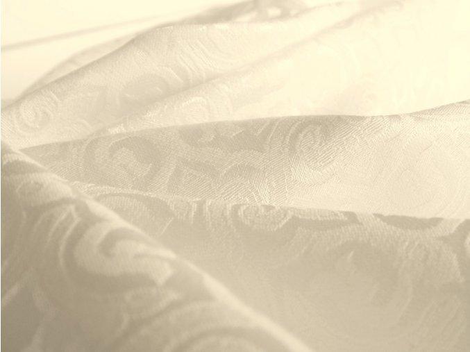 R 6359 odaska metraz brokat smetanova