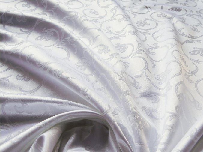 Odaska 163 FLORAL ORNAMENT white
