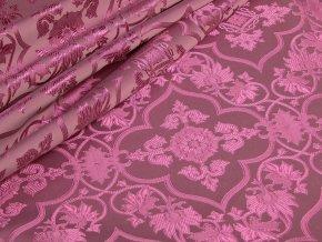 Ecclesiastical brocade 160 50749 Thorn & Cross pink