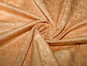 R5988 girlandy oranžová spirála