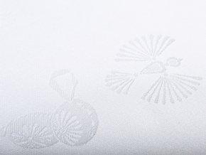 holubička bílá detail