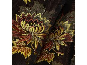 Ondrina 160 Costume brocade Little flower black/copper