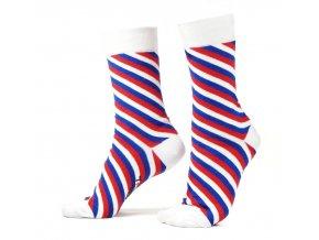ponozky hopky trikolora 1