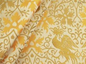 Historical brocade 160 50749 Phoenix ivory