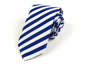 51402188 kravata bikolora finsko modra bila