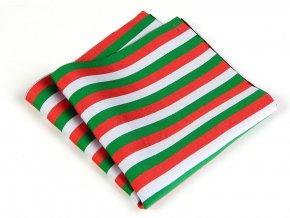 57401127 kapesnicek trikolora bila zelena cervena 1