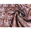 r 6255 337 gerbera ondrin brokat kroj hneda vinova ruzova 1