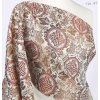 Ecclesiastical brocade 160 51037 Cross in circle ivory