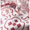 Historický brokát 160  51038 motiv ve čtverci režná, červená