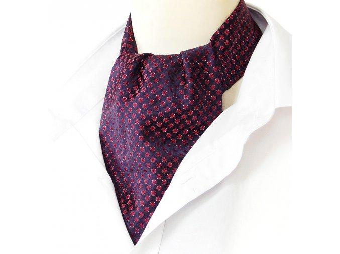 18100015 kravatosala ASKOT HEDVABI KLASIKA MODRA