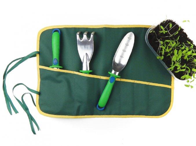 71100346 poradac organizer zahradni naradi zelena