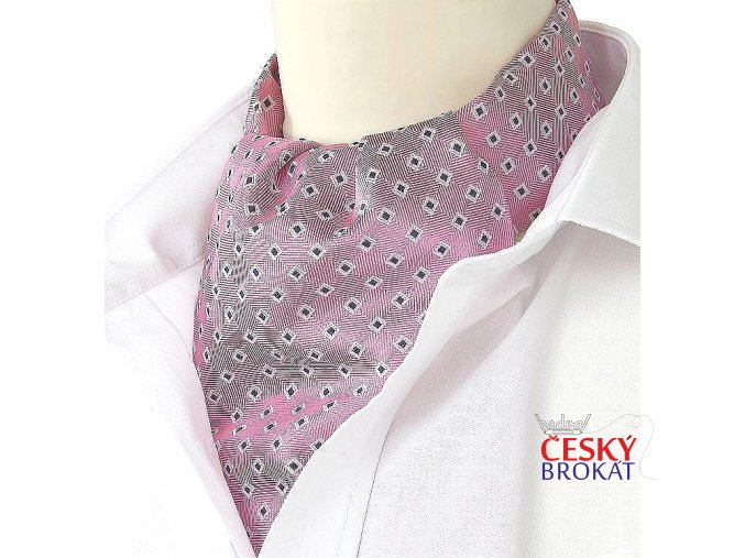 18100284 kravatosala ASKOT HEDVABI ruzova