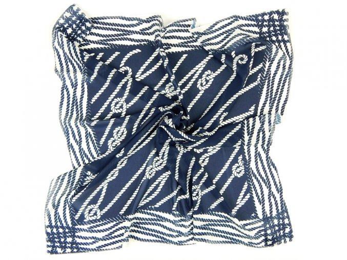 Šátek PESh 525 70x70 TISK lano