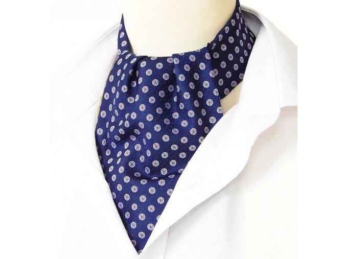 18100383 kravatosala ASKOT polyester KOLECKO MODRA