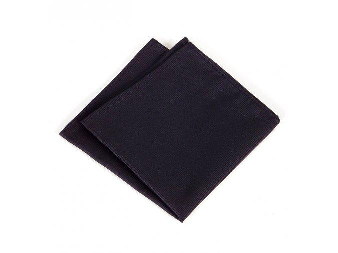 Kapesníček ČH 409 UNI ryps černá