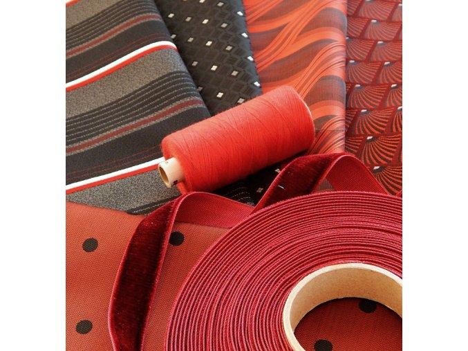 patchwork cervena cerna 2