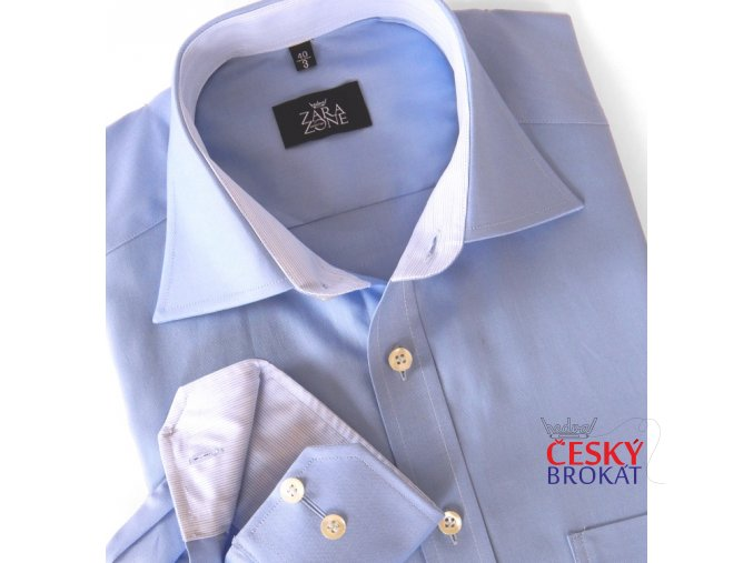 Košile ELEGANT COMBI modrá