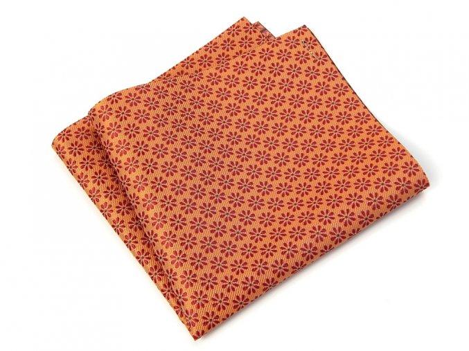 57400810 kapesnicek kyticka oranzova