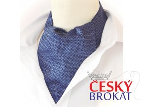 18100016 kravatosala ASKOT hedvabi klasika modra