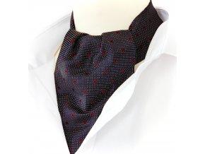 18100017 kravatosala ASKOT hedvabi cerna ctverecek