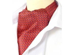 18100226 kravatosala he kyticky cervena