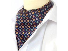 18100281 kravatosala he kolecko tmava modra