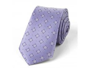51402004 kravata ctverec fialova
